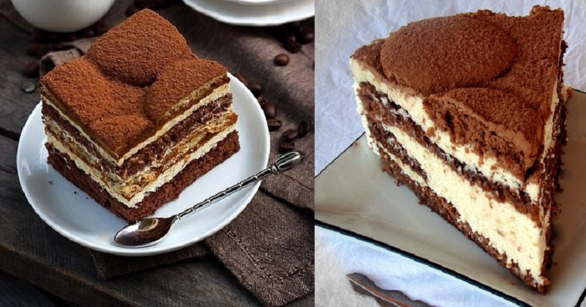 Торт «Латте макиато»