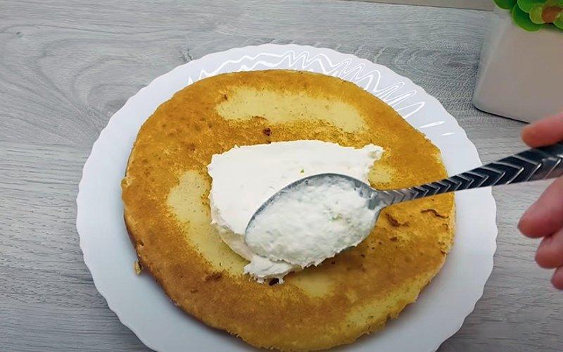 торт без выпечки из сгущенки