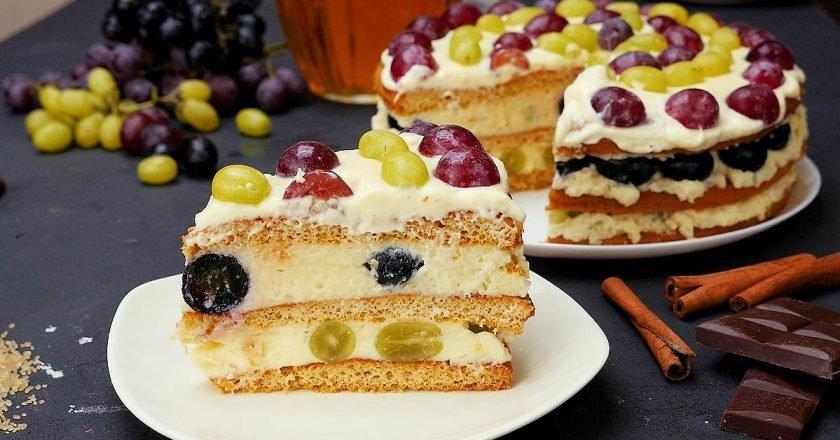 Торт «Насолода» - готуємо з покроковими фото