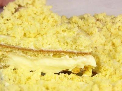 Торт «Одуванчик»