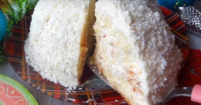 Торт «Панчо» с двумя видами крема