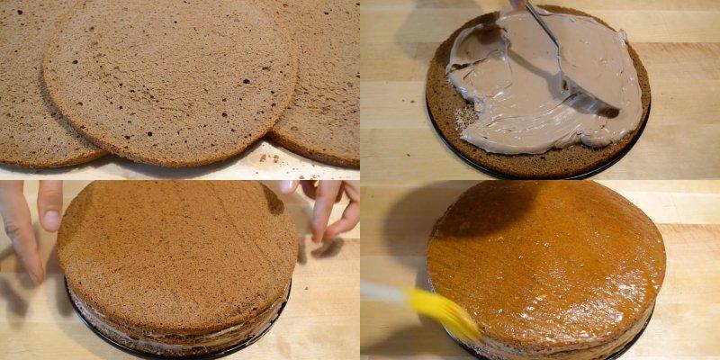 как готовить торт прага в домашних условиях