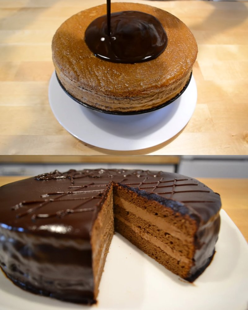 как испечь торт прага в домашних условиях