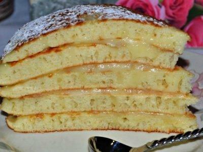 Торт «Пушинка» на сковороде