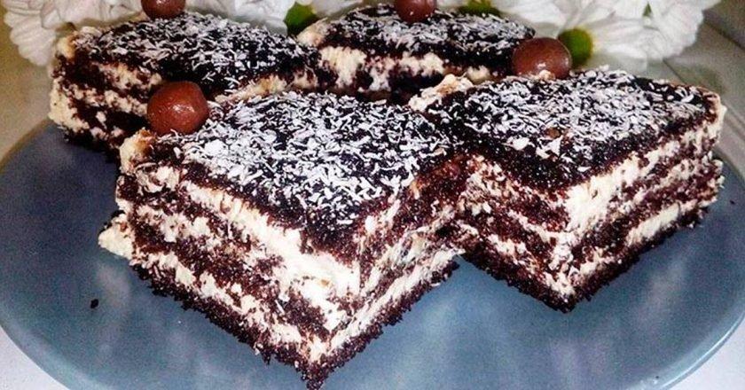 Торт «Арабские сказки» с манным кремом