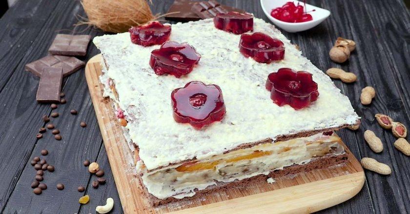 Торт «Сакура» - готуємо з покроковими фото