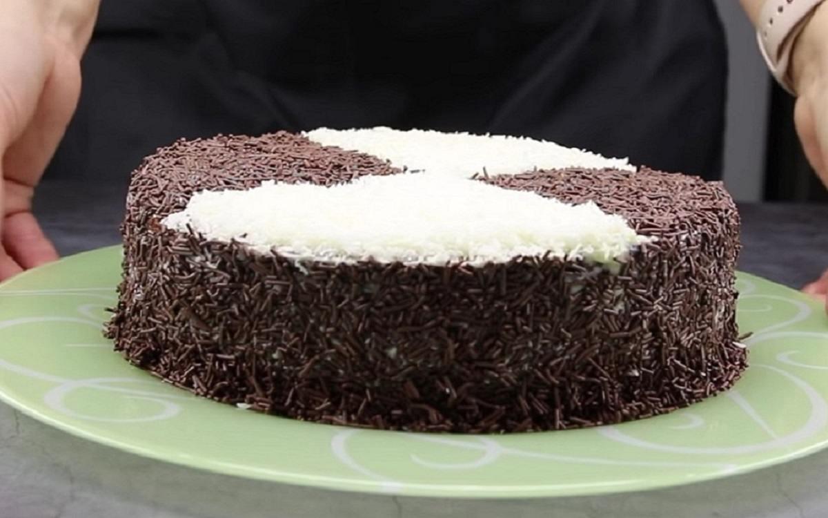торт «Три стакана»