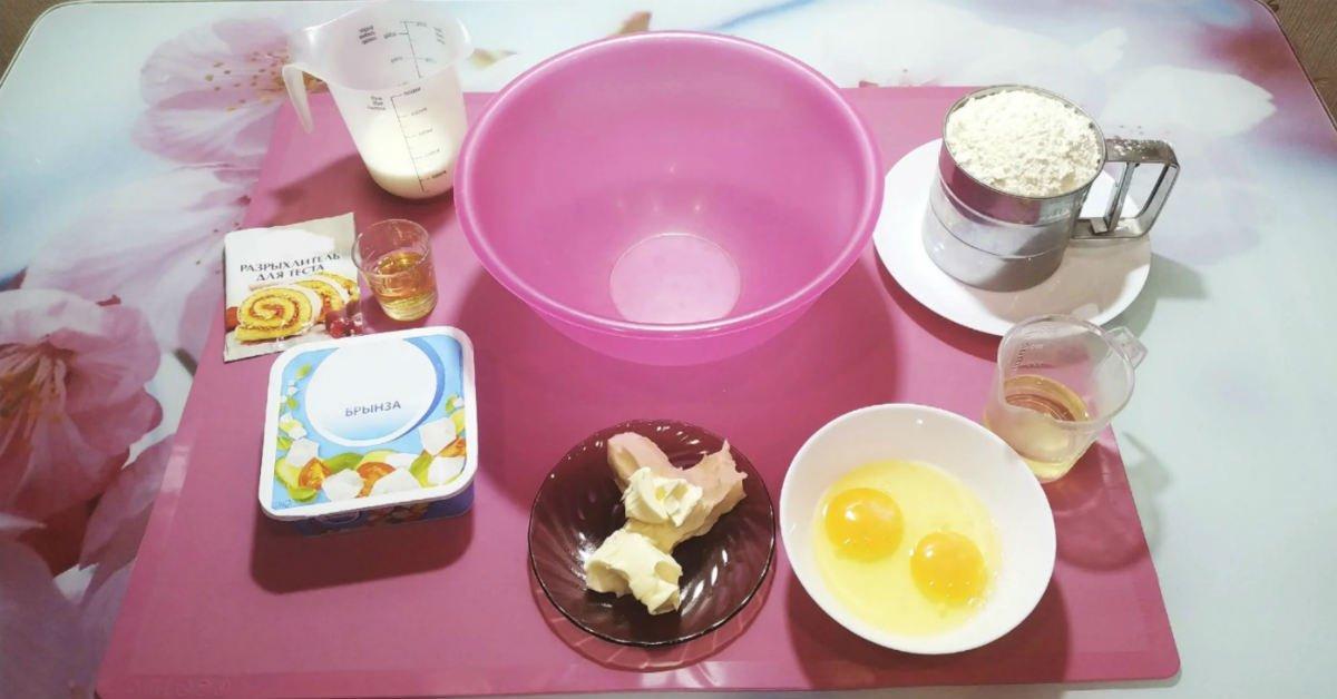 ингредиенты на пирожки