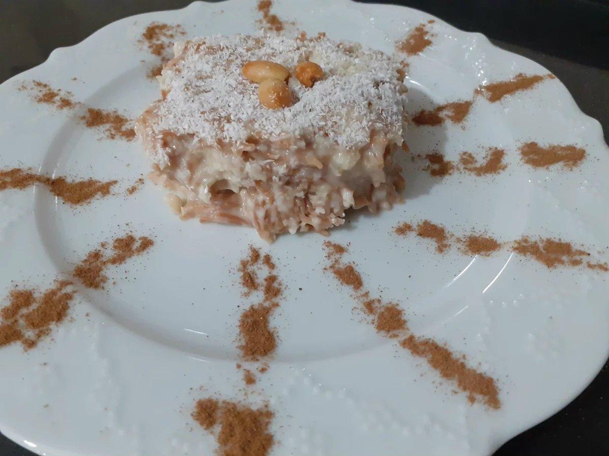 турецкий десерт с вермишелью