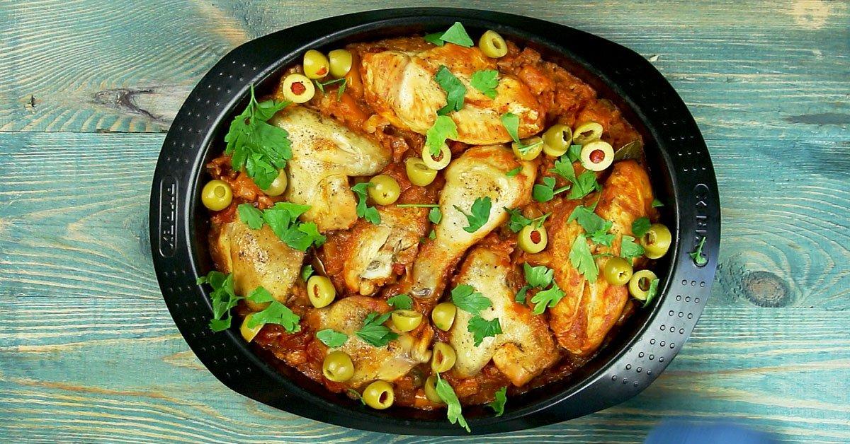 Курица по-испански: рецепт с фото