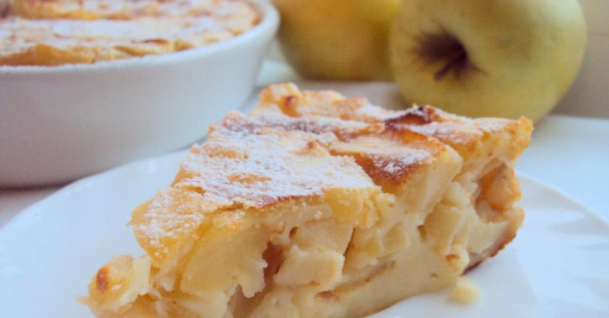 Запеканка из творога с яблоками в духовке рецепт с фото пошагово