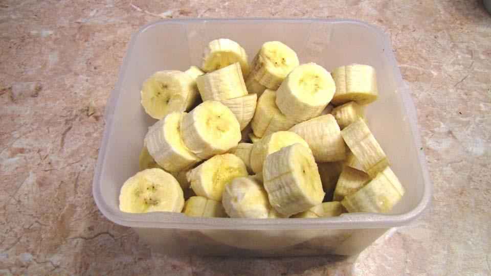 блюда с бананами