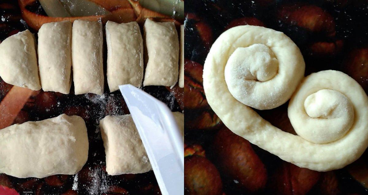 приготовление заготовок для печенья