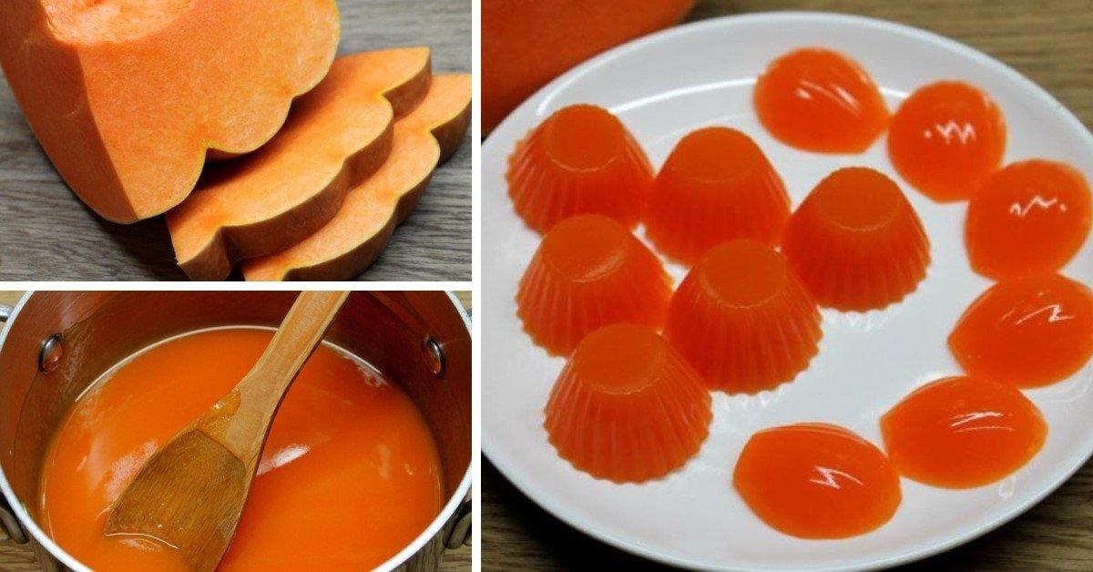 Мармелад из тыквы – 6 рецептов в домашних условиях