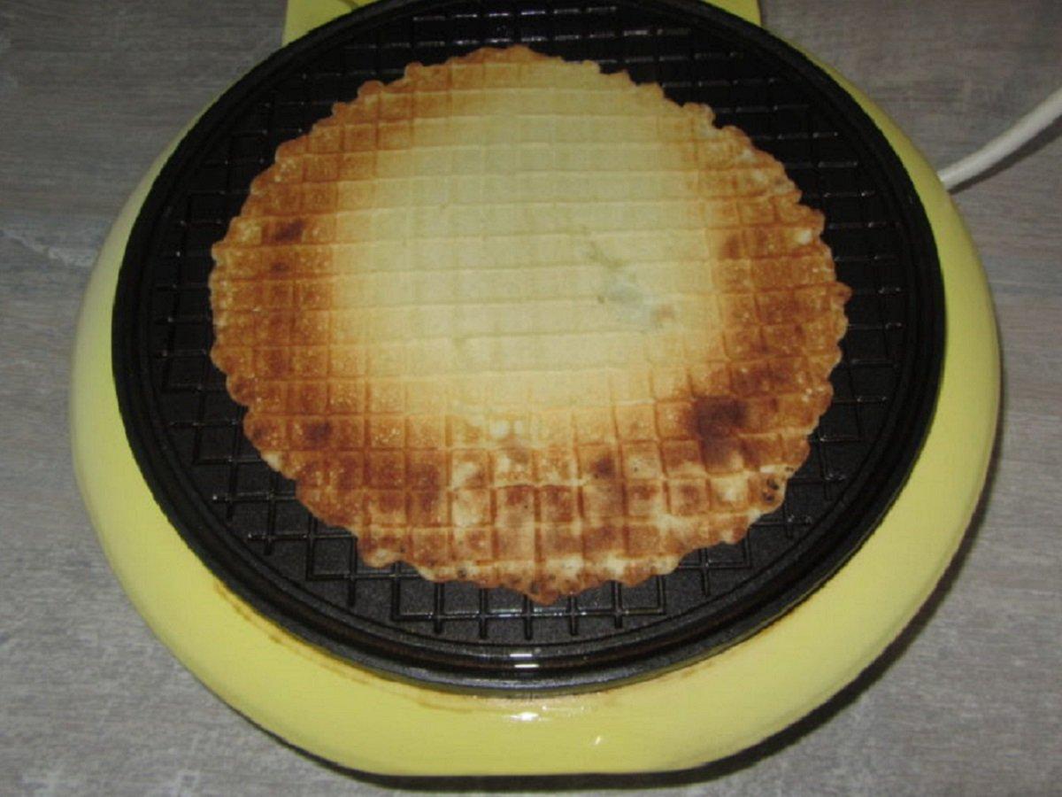 приготовление вафли