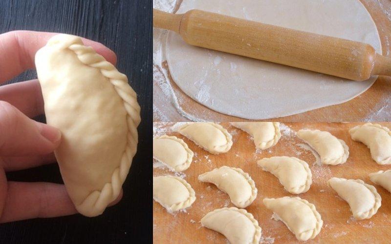 вареники с адыгейским сыром