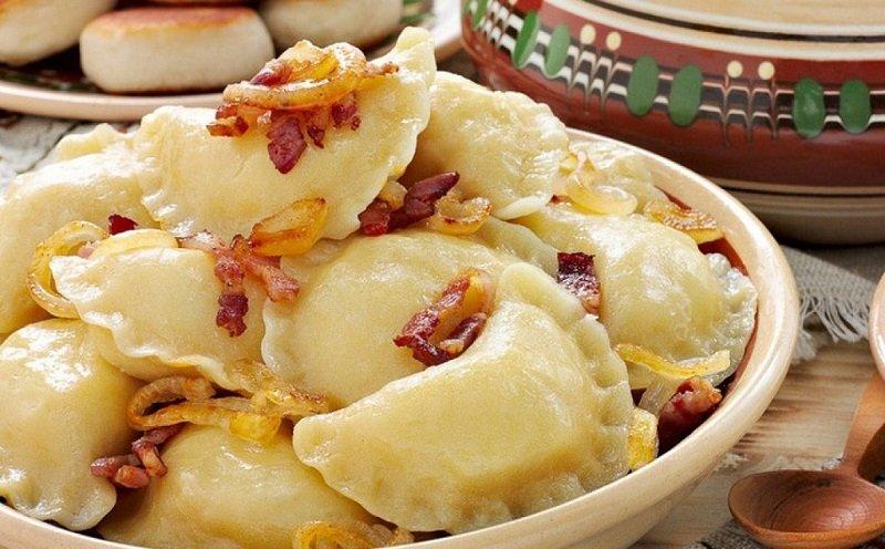 вареники с сырым картофелем