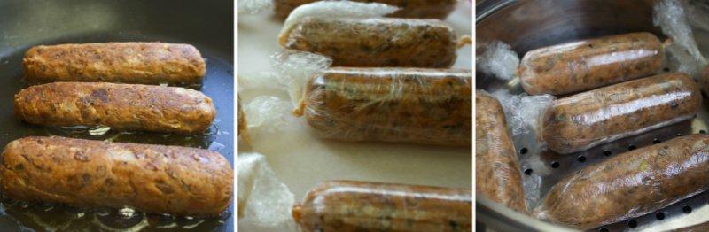 сосиски из фасоли