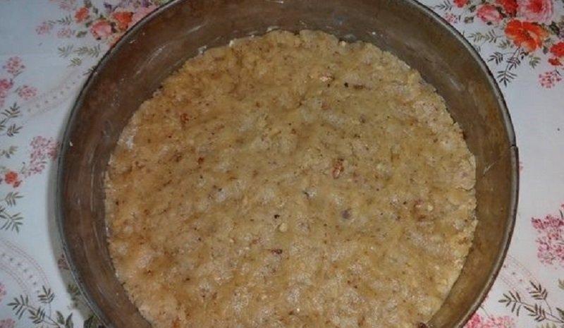 ореховый бисквит