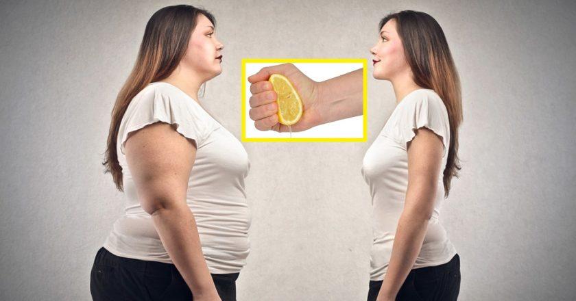 вода с лимонным соком