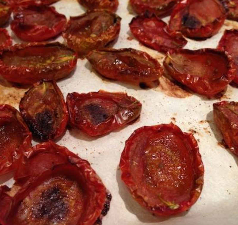 jak suszyć pomidory