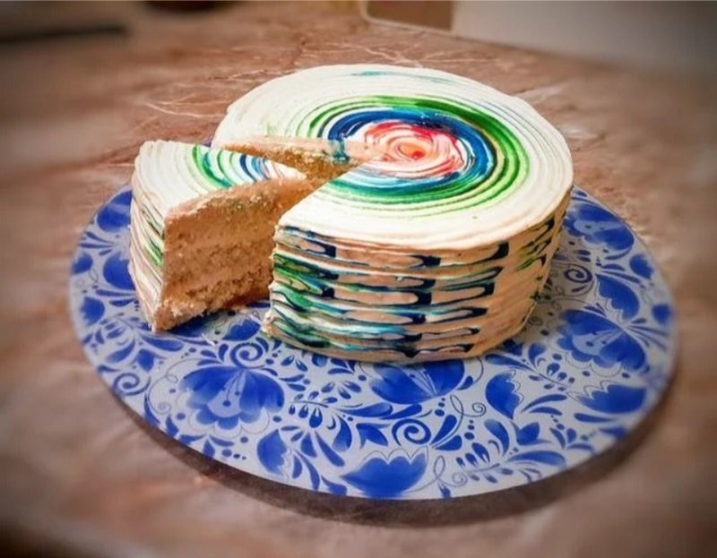 испечь высокий бисквит