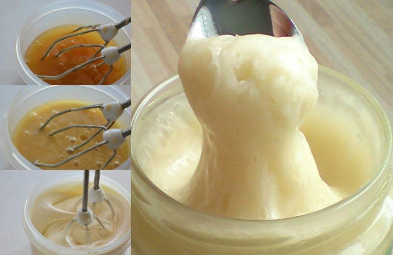 взбитый мёд в домашних условиях