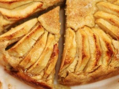 Яблочный пирог «Невидимый»