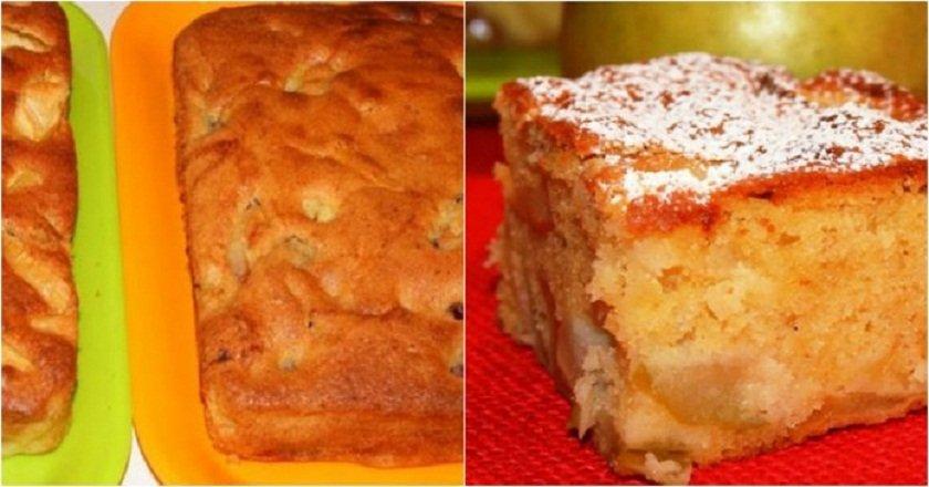 Яблочный пирог по-немецки