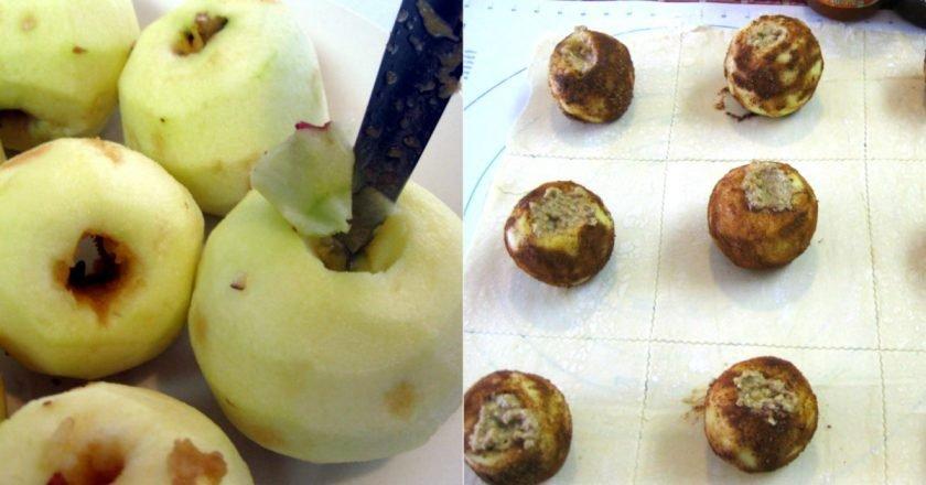 Яблука в листковому тісті подивитися рецепт