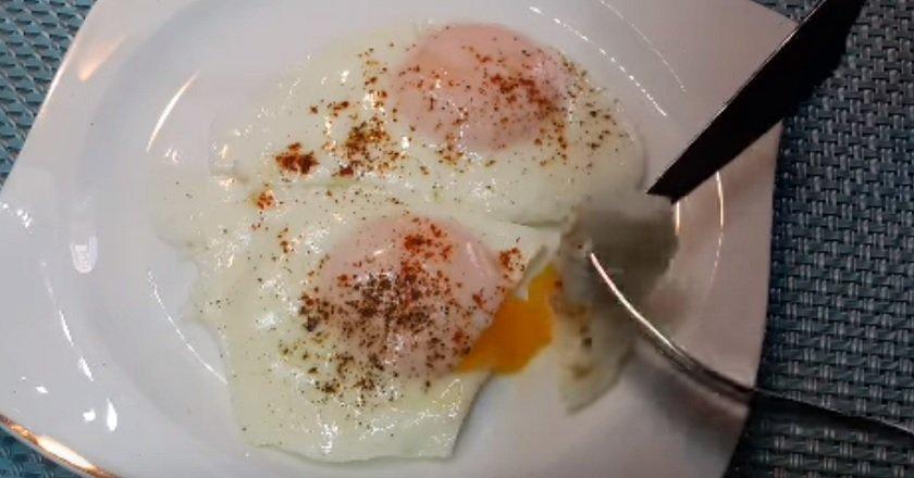 Яичница без масла