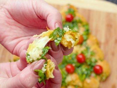 Закуска из сырных шариков