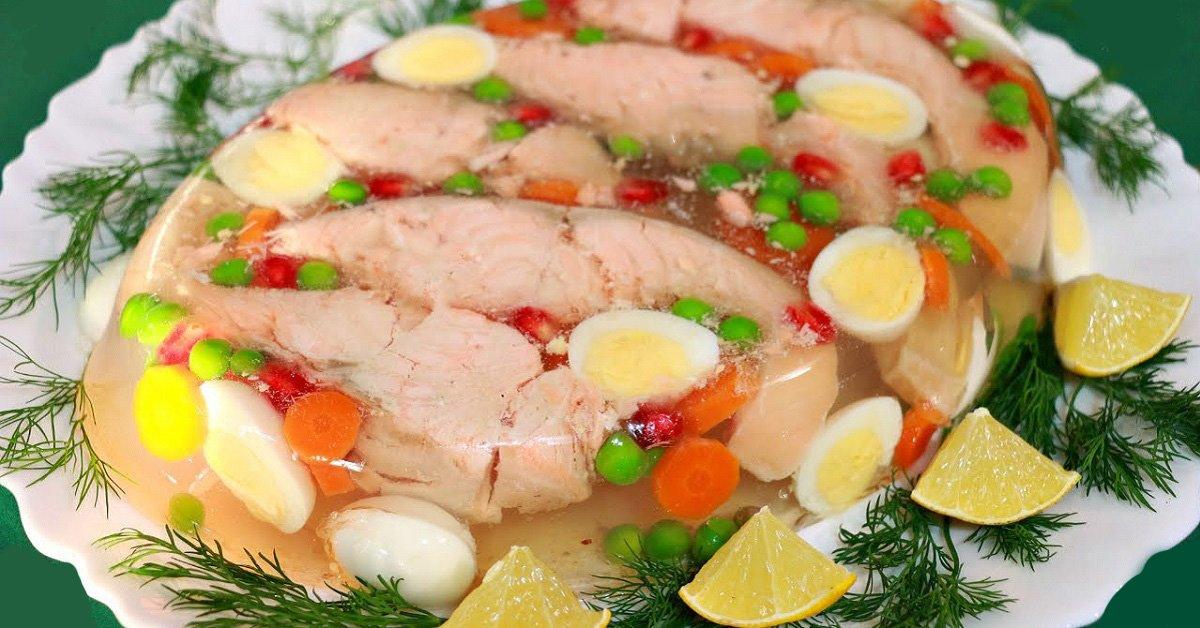 Заливная красная рыба рецепт приготовления