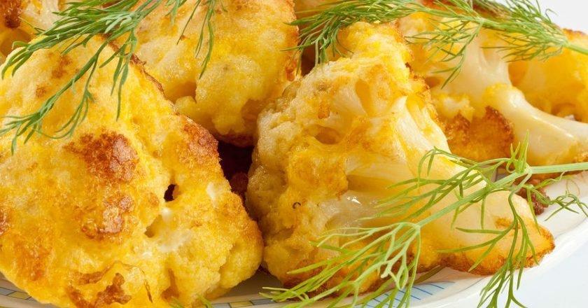 Жареная цветная капуста рецепты быстро и вкусно