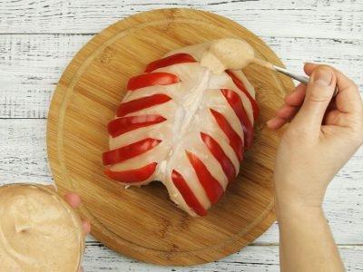 Запеченная куриная грудка