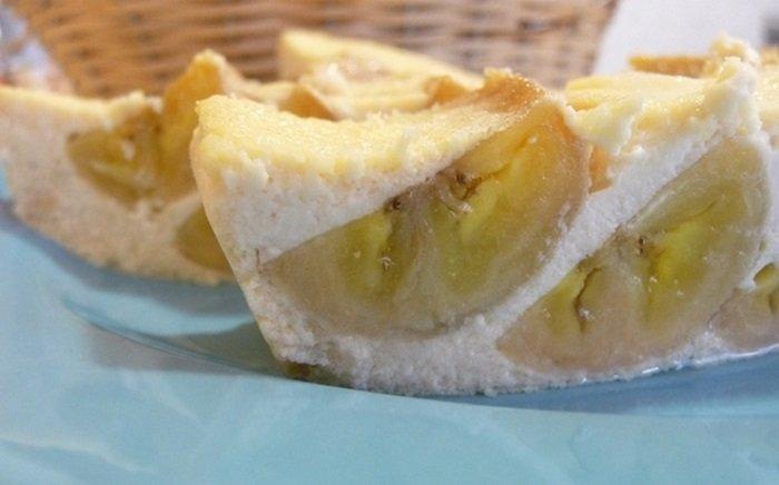 бананы запеченные с творогом