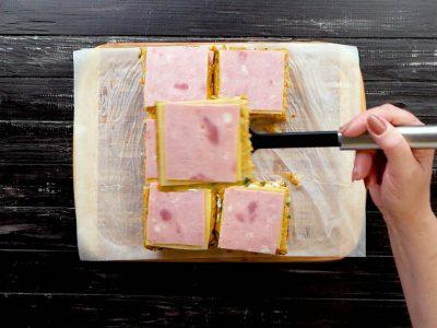 Запеченные сэндвичи из тертого картофеля