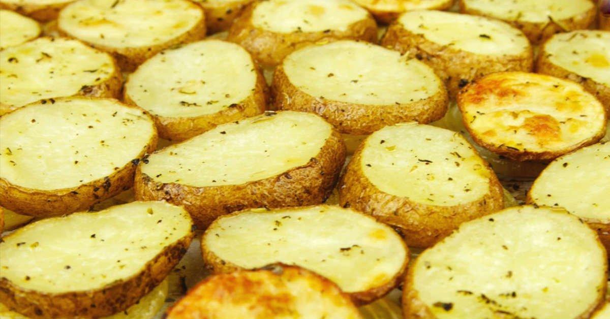 нежный запеченный картофель