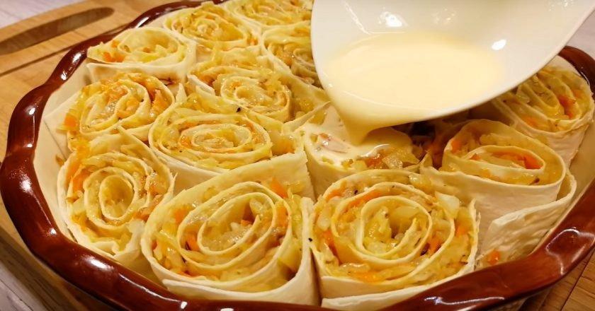 начинки для лаваша в духовке рецепты