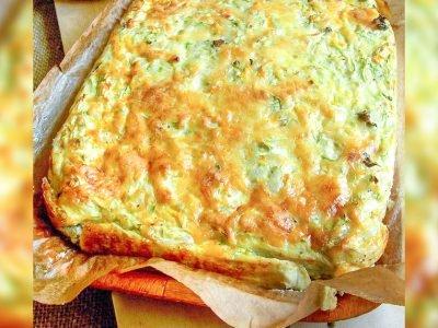 Запеканка из кабачков с сыром в духовке