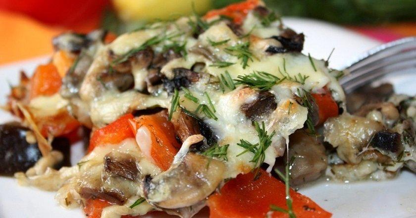 Запіканка з баклажанами - готуємо з покроковими фото