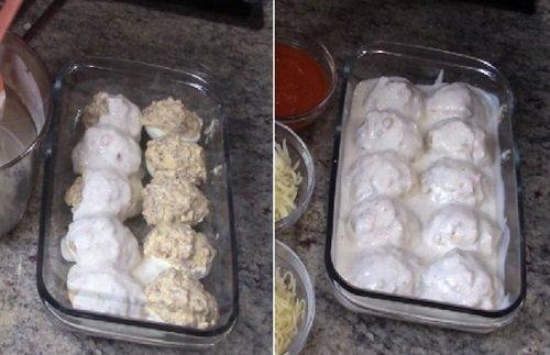 запеканка с яйцами и сыром