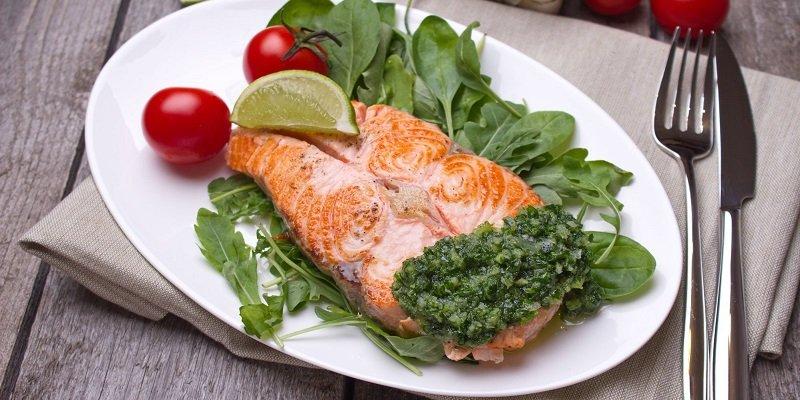 рыба с базиликом