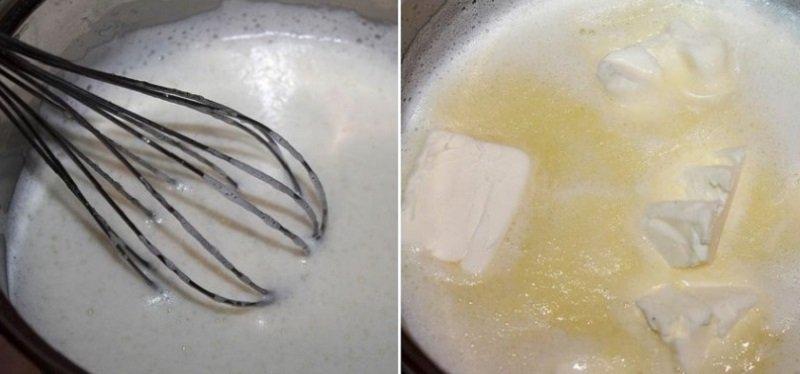 Заварной крем для десертов