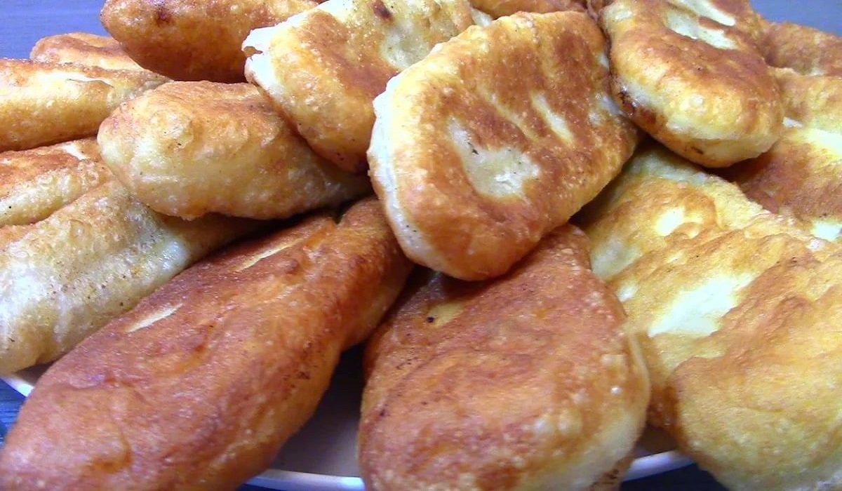 жареные пирожки с мясом