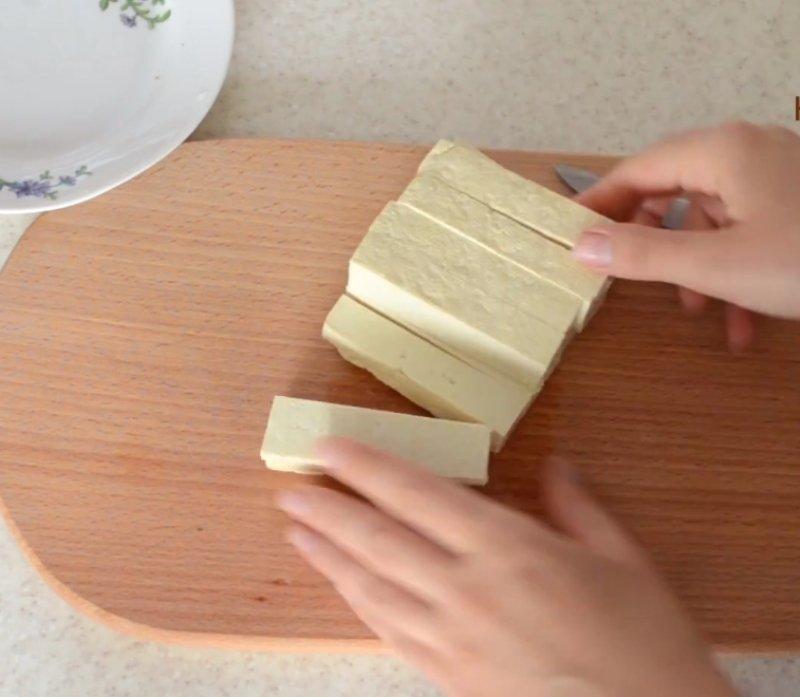 жареный тофу в кляре