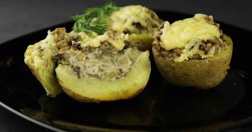 Жюльєн в картоплі - готуємо з покроковими фото